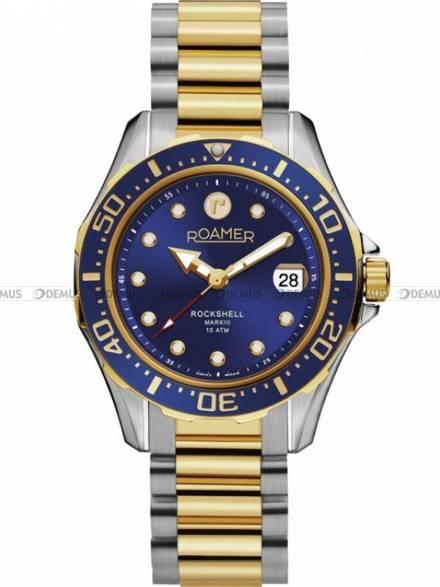 Zegarek Męski automatyczny Roamer Rockshell Mark III 220660 47 45 20