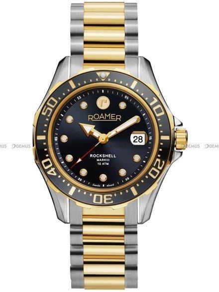 Zegarek Męski automatyczny Roamer Rockshell Mark III 220660 47 55 20