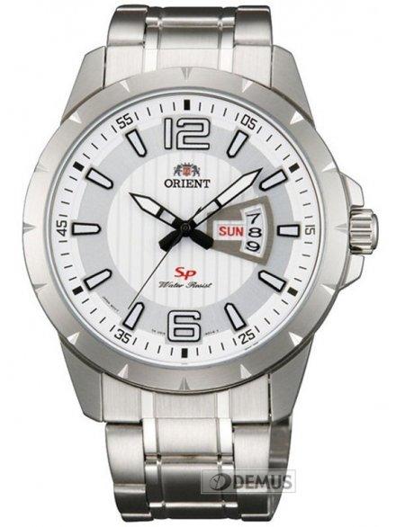 Zegarek Orient FUG1X005W9 męski na stalowej bransolecie