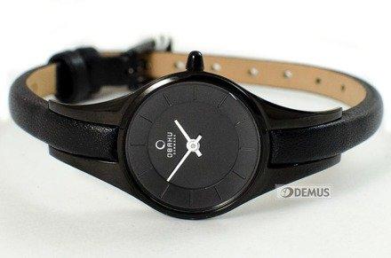 Zegarek damski na pasku Obaku V110LBBRB