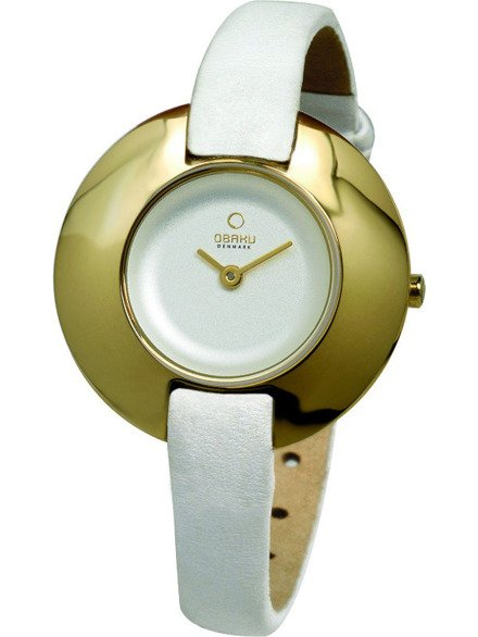 Zegarek damski na pasku Obaku V135LGIRW