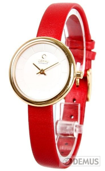 Zegarek damski na pasku Obaku V146LGIRR