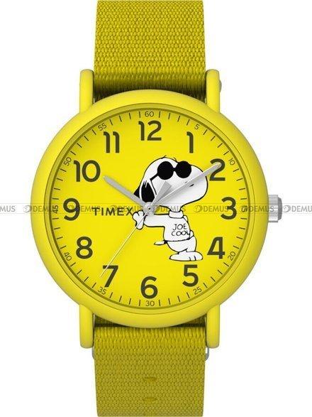 Zegarek dziecięcy Timex Weekender Peanuts TW2T65900
