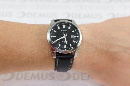 Zegarek klasyczny na pasku Casio BEM 116L 1AVEF