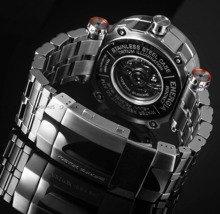 Bransoleta stalowa do zegarka Vostok Energia - 20 mm - Srebrna