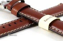 Pasek do zegarka skórzany - Morellato A01X4272B12041 20 mm