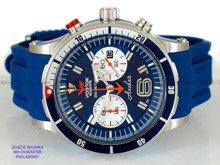 Pasek silikonowy do zegarka Vostok Anchar 6S21-510A583 - 24 mm