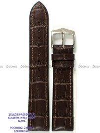 Pasek skórzano-kauczukowy do zegarka - Hirsch Paul 0925028010-2-21 - 21 mm