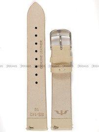 Pasek skórzany do zegarka Bisset - BS-142 - 18 mm