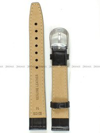 Pasek skórzany do zegarka Bisset - BS-208 - 14 mm - XL