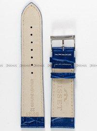 Pasek skórzany do zegarka Bisset - PB15.22.5 - 22 mm