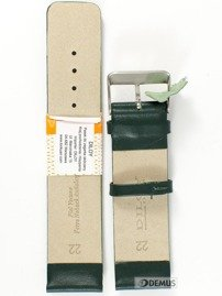 Pasek skórzany do zegarka - Diloy 327.22.11 - 22mm