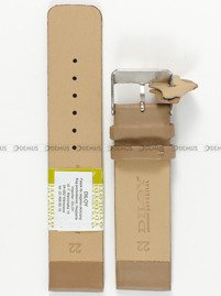 Pasek skórzany do zegarka - Diloy 327.22.17 - 22mm