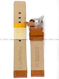 Pasek skórzany do zegarka - Diloy 367.20.3 - 20mm