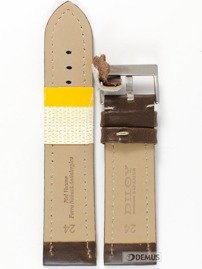 Pasek skórzany do zegarka - Diloy 377EA.24.2 - 24 mm