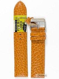 Pasek skórzany do zegarka - Diloy P205.20.3 - 20mm