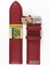 Pasek skórzany do zegarka - Diloy P205.24.4 - 24mm