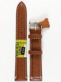 Pasek skórzany do zegarka - Diloy P206.18.3 18mm