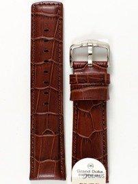 Pasek skórzany do zegarka - Hirsch 02528070-2-24 - 24 mm