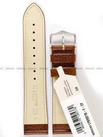 Pasek skórzany do zegarka - Hirsch Forest 17920270-2-22 - 22 mm
