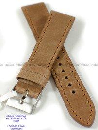 Pasek skórzany do zegarka - LAVVU LSAUE24 - 24 mm