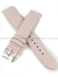 Pasek skórzany do zegarka - Minet MSSEP18 - 18 mm