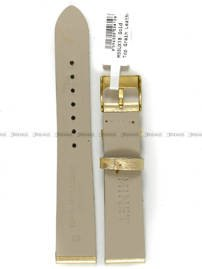 Pasek skórzany do zegarka - Minet MSSUX18 - 18 mm
