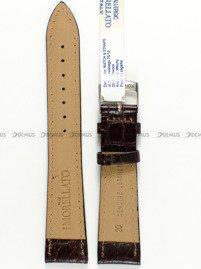 Pasek skórzany do zegarka - Morellato A01U0751376034 20mm