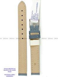 Pasek skórzany do zegarka - Morellato A01X0969087093CR16 - 16 mm