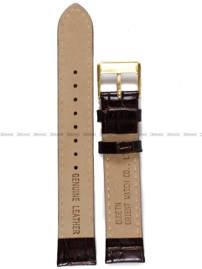 Pasek skórzany do zegarka Orient FER2K003C0 - UDETNAC - 17 mm