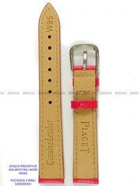 Pasek skórzany do zegarka - Pacific W95.20.20.20 - 20 mm