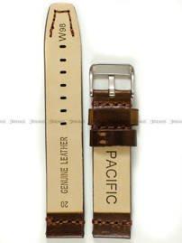 Pasek skórzany do zegarka - Pacific W98.20.2.2 - 20 mm