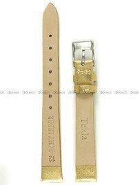 Pasek skórzany do zegarka - Tekla PT41.12.11 - 12 mm