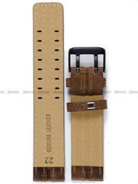 Pasek skórzany do zegarka Vostok Expedition North Pole NH35A-592C554 - 22 mm