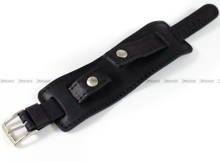 Pasek skórzany z podkładką do zegarka - Horido 0112.01.16S - 16 mm