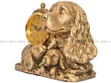 Zegar kominkowy figurka pies Hagen TK5615
