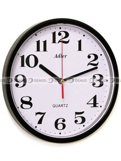 Zegar ścienny Adler 30019-BLACK