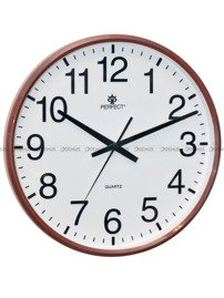 Zegar ścienny Perfect SWL684-BRN