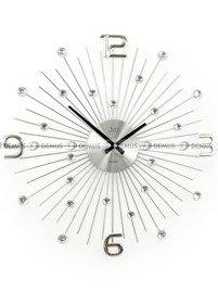 Zegar ścienny aluminiowy JVD HT074