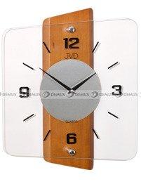 Zegar ścienny szklano-drewniany N20131.41