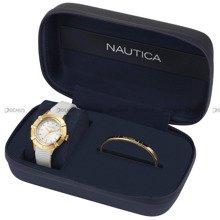 Zegarek Damski Nautica Capri NAPCPR007 - Bransoletka w zestawie