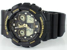 Zegarek Męski G-SHOCK BLACK AND GOLD GA-100GBX-1A9ER