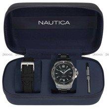 Zegarek Męski Nautica Freeboard NAPFRB014 - W zestawie dodatkowy pasek